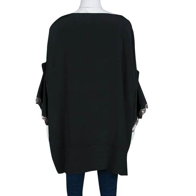 ISSA London Silk Embellished Oversized Tunic Image 3