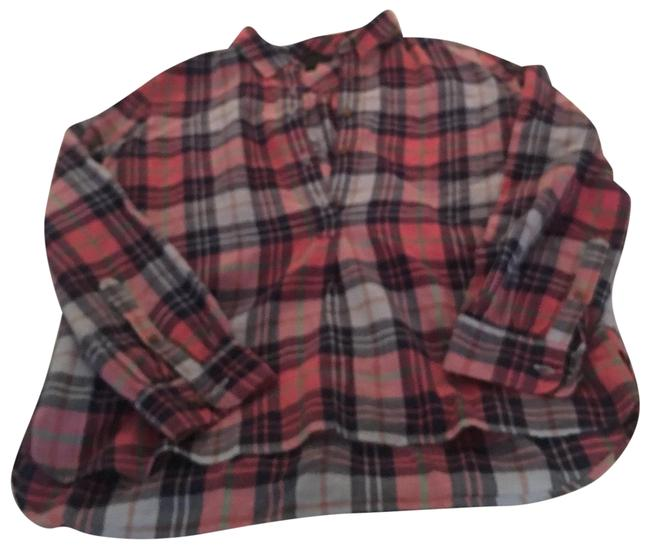 Preload https://img-static.tradesy.com/item/25340915/jcrew-pink-navy-green-and-white-plaid-tunic-blouse-button-down-top-size-4-s-0-1-650-650.jpg