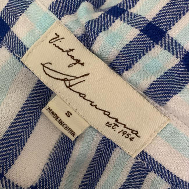 Vintage Havana Button Down Shirt Blue/White Image 10