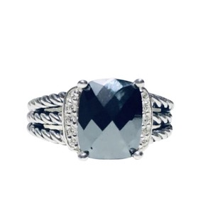 David Yurman Hermatite Diamond Petite Wheaton