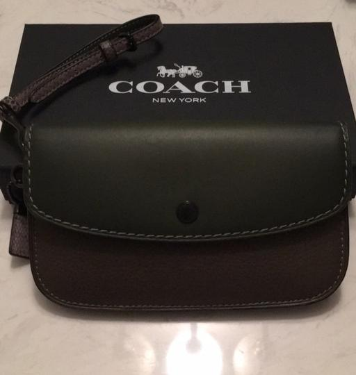 Coach Dark green Clutch Image 1