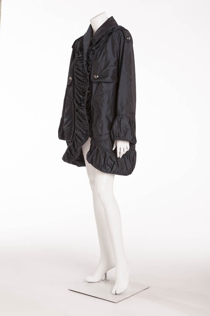 Burberry Vintage Navy blue, Iridescent Jacket Image 1