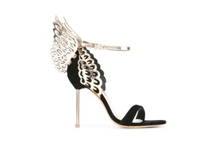 Sophia Webster Evangeline Black Gold Pumps