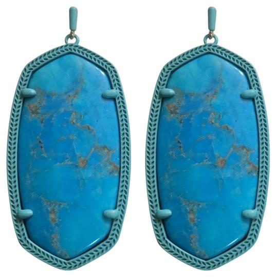 Preload https://img-static.tradesy.com/item/25341189/kendra-scott-turquoise-danielle-earrings-0-2-540-540.jpg