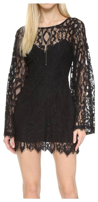 Preload https://img-static.tradesy.com/item/25341312/free-people-black-guinevere-scalloped-short-night-out-dress-size-0-xs-0-1-650-650.jpg