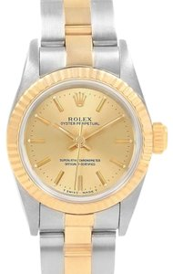 Rolex Rolex Oyster Perpetual NonDate Steel Yellow Gold Ladies Watch 67193