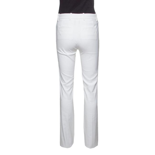 Roberto Cavalli Cotton Straight Pants White Image 1