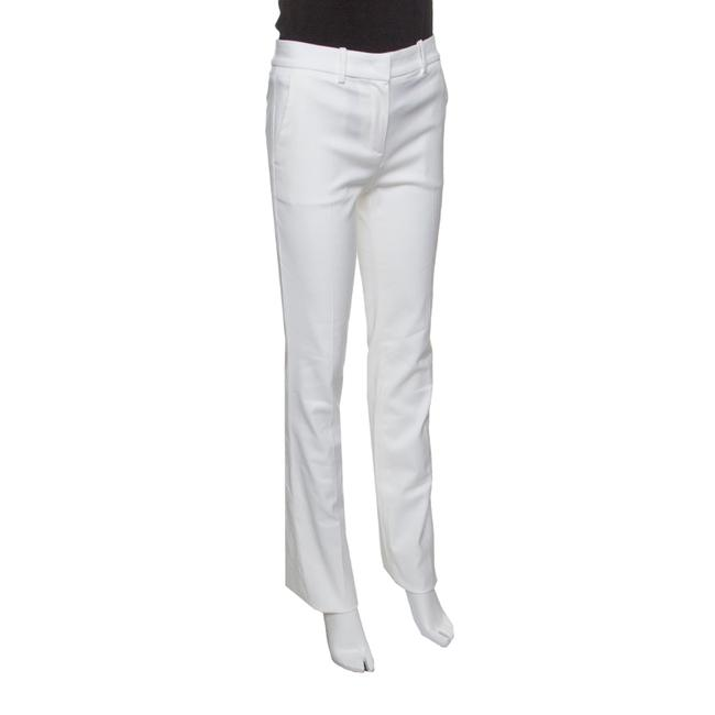 Roberto Cavalli Cotton Straight Pants White Image 2