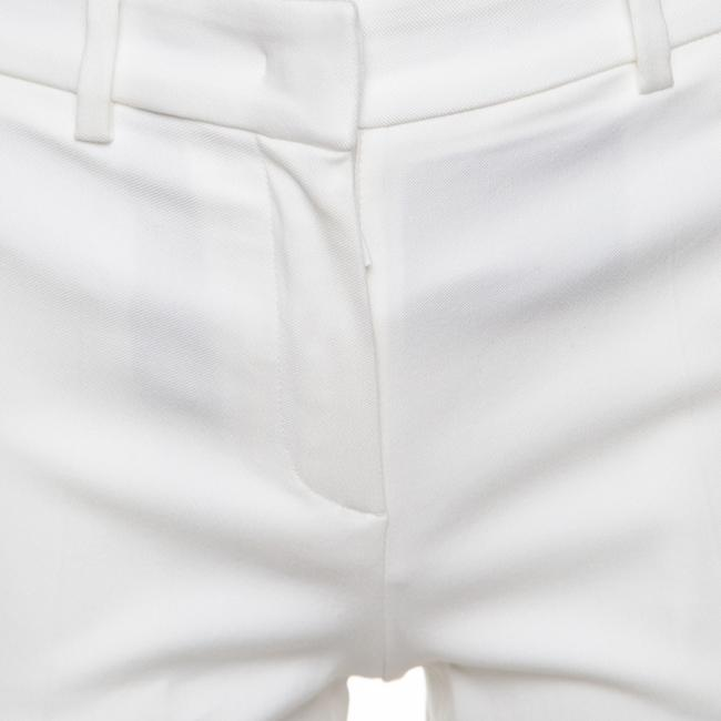 Roberto Cavalli Cotton Straight Pants White Image 3