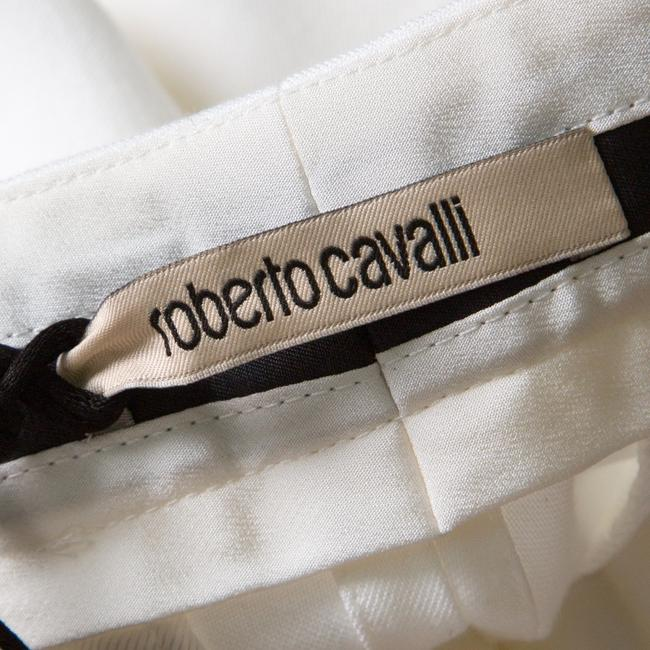 Roberto Cavalli Cotton Straight Pants White Image 4