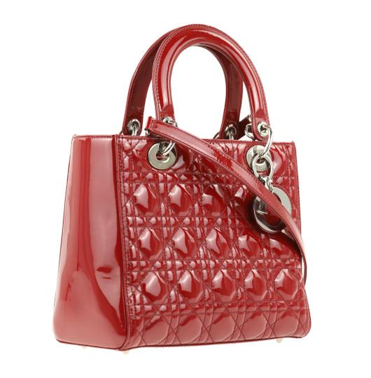 Dior Tote in Red Image 1