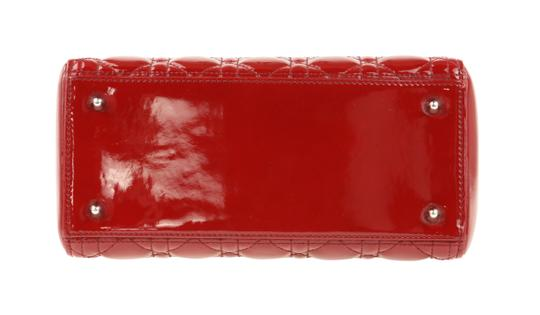 Dior Tote in Red Image 4