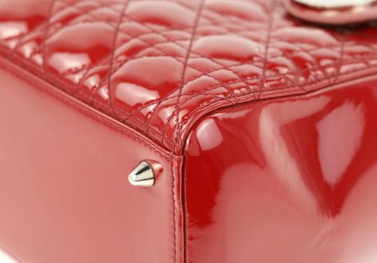 Dior Tote in Red Image 5