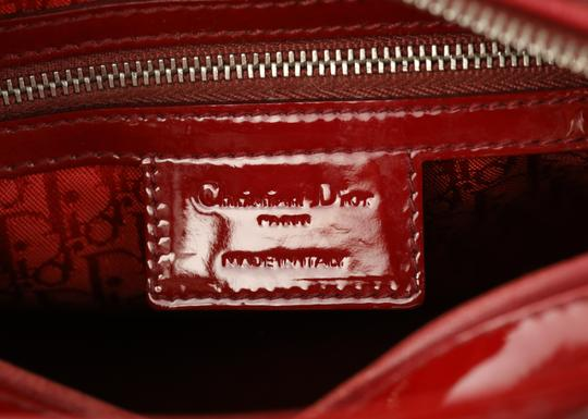 Dior Tote in Red Image 9