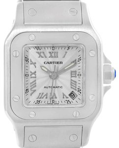Cartier Cartier Santos Galbee Stainless Steel Automatic Ladies Watch W20044D6