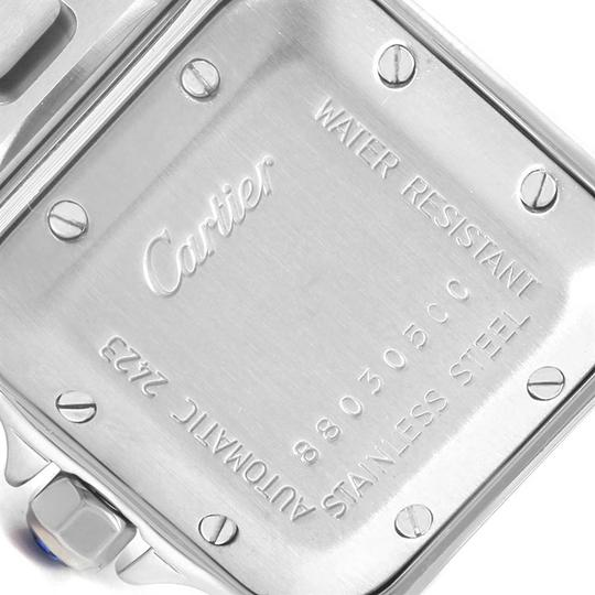 Cartier Cartier Santos Galbee Stainless Steel Automatic Ladies Watch W20044D6 Image 4