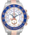 Rolex Rolex Yachtmaster II Stainless Steel 18k Rose Gold Mens Watch 116681 Image 0