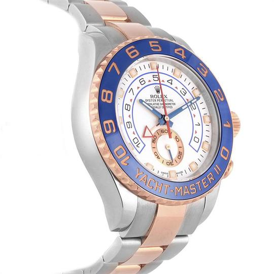 Rolex Rolex Yachtmaster II Stainless Steel 18k Rose Gold Mens Watch 116681 Image 2