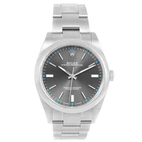 Rolex Rolex Oyster Perpetual 39 Stainless Steel Mens Watch 114300 Box Image 1