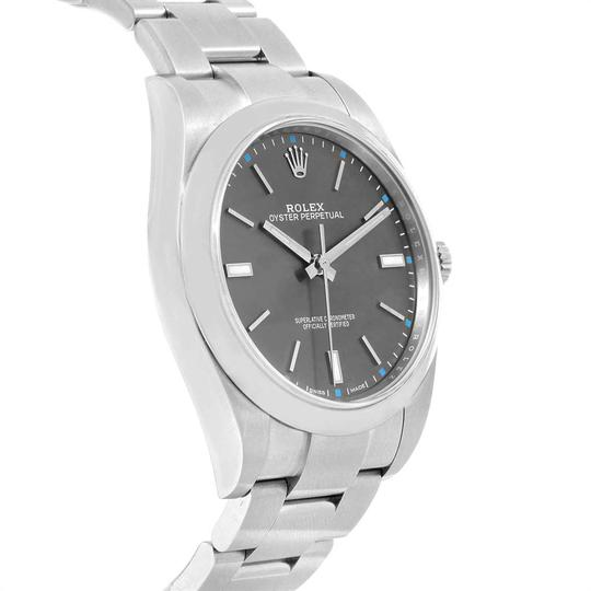 Rolex Rolex Oyster Perpetual 39 Stainless Steel Mens Watch 114300 Box Image 2