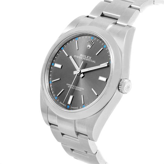 Rolex Rolex Oyster Perpetual 39 Stainless Steel Mens Watch 114300 Box Image 3