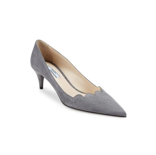 Prada Grey Pumps Image 3