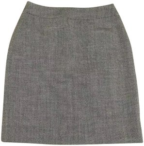 Ann Taylor Skirt black gray