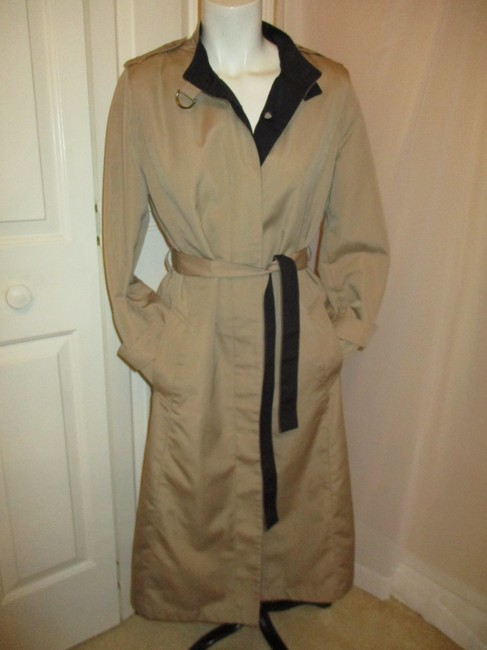 Misty Harbor Vintage All Weather Rain Oo1 Oneam Trench Coat Image 1