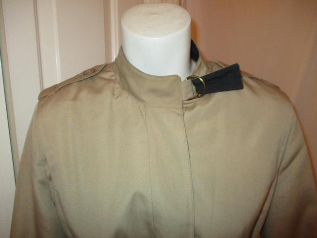 Misty Harbor Vintage All Weather Rain Oo1 Oneam Trench Coat Image 2