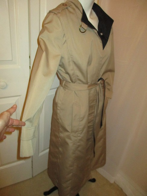 Misty Harbor Vintage All Weather Rain Oo1 Oneam Trench Coat Image 3