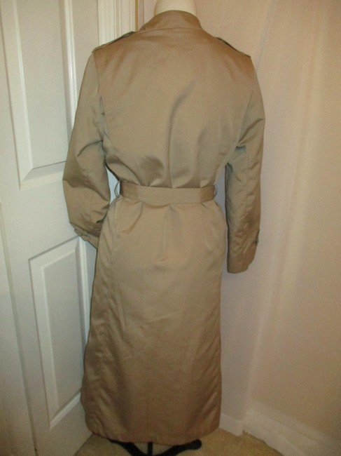 Misty Harbor Vintage All Weather Rain Oo1 Oneam Trench Coat Image 4