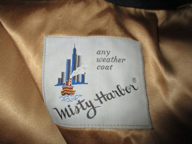 Misty Harbor Vintage All Weather Rain Oo1 Oneam Trench Coat Image 5