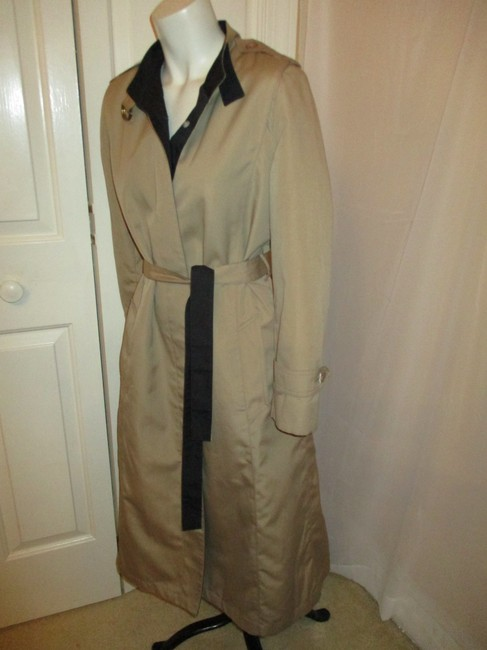 Misty Harbor Vintage All Weather Rain Oo1 Oneam Trench Coat Image 6