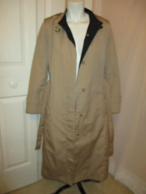 Misty Harbor Vintage All Weather Rain Oo1 Oneam Trench Coat Image 8