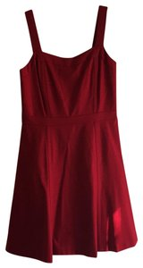 INC International Concepts short dress Red- a deep cherry red perfect for the office or out fit the night on Tradesy