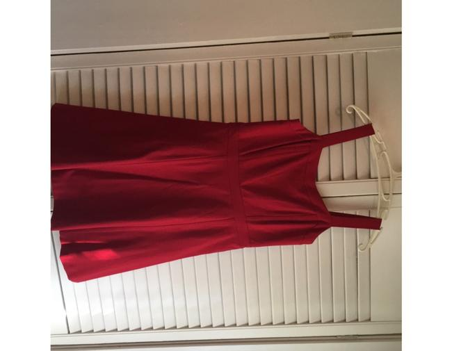 INC International Concepts short dress Red- a deep cherry red perfect for the office or out fit the night on Tradesy Image 1