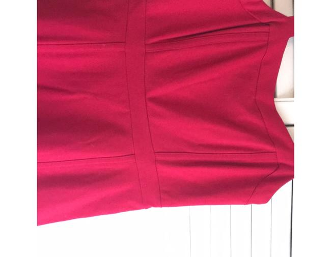 INC International Concepts short dress Red- a deep cherry red perfect for the office or out fit the night on Tradesy Image 2