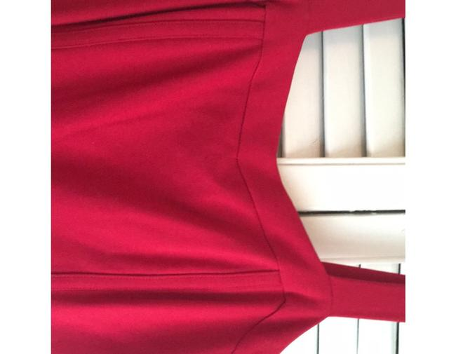 INC International Concepts short dress Red- a deep cherry red perfect for the office or out fit the night on Tradesy Image 3