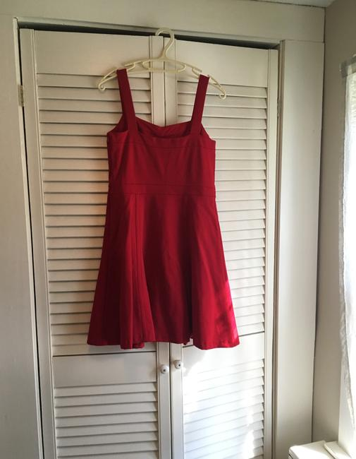 INC International Concepts short dress Red- a deep cherry red perfect for the office or out fit the night on Tradesy Image 5