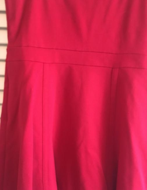 INC International Concepts short dress Red- a deep cherry red perfect for the office or out fit the night on Tradesy Image 7