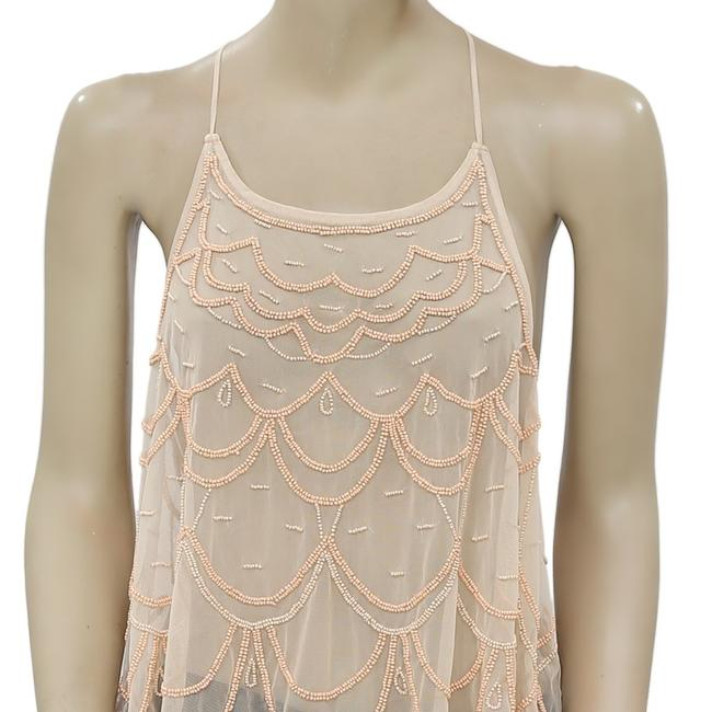 Kimchi Blue Urban Outfitters Chandelier Embellished Top Peach Image 4
