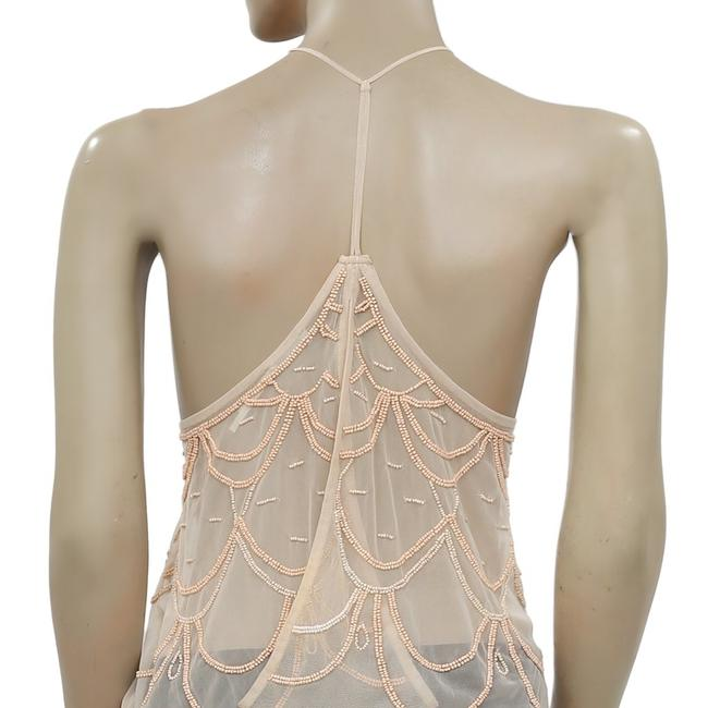 Kimchi Blue Urban Outfitters Chandelier Embellished Top Peach Image 6