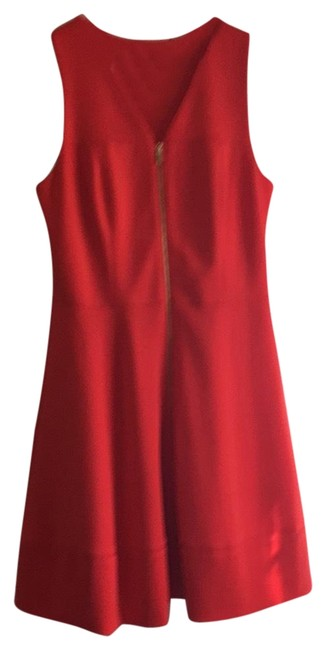 Item - Deep Tangerine The Perfect Summer Color Sundress and Day Short Casual Dress Size 12 (L)