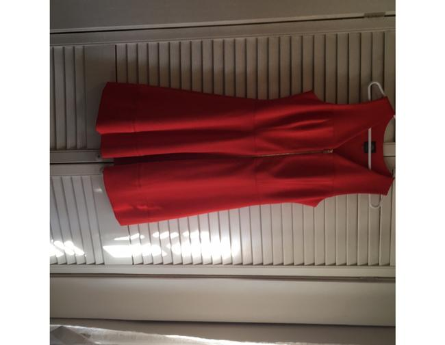 Vince Camuto short dress deep tangerine the perfect summer color on Tradesy Image 1