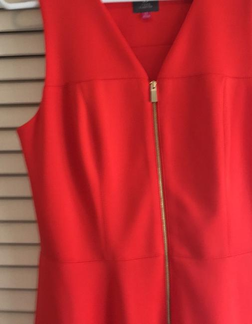 Vince Camuto short dress deep tangerine the perfect summer color on Tradesy Image 2
