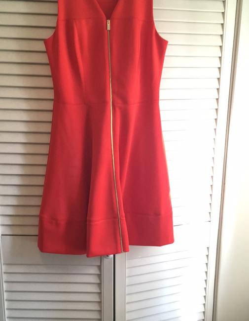 Vince Camuto short dress deep tangerine the perfect summer color on Tradesy Image 3