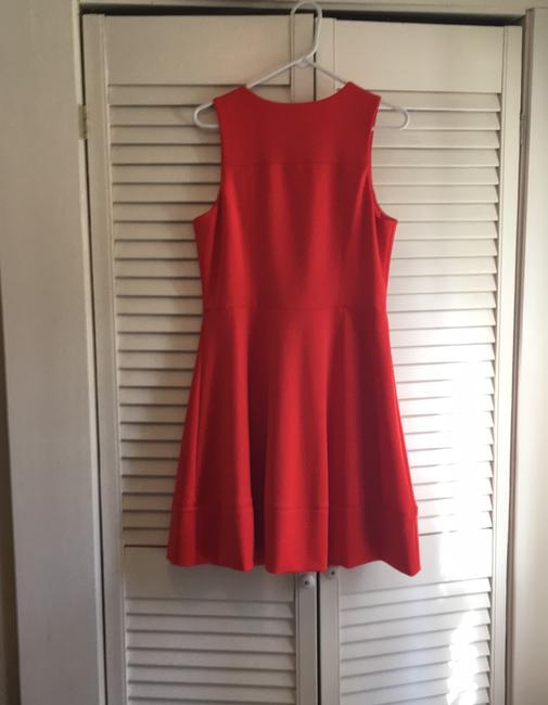 Vince Camuto short dress deep tangerine the perfect summer color on Tradesy Image 5