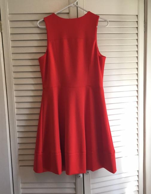 Vince Camuto short dress deep tangerine the perfect summer color on Tradesy Image 6