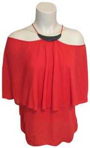 Halston Top red