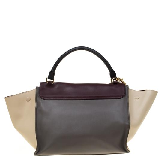 Céline Leather Tote in Multicolor Image 1
